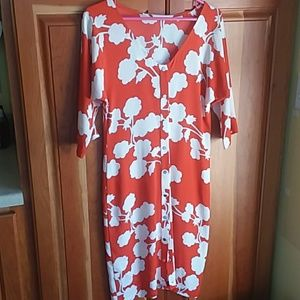 Diane von Furstenberg Maja 2 floral dress